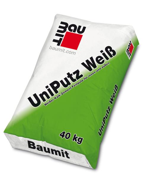 Baumit UniPutz Weiß