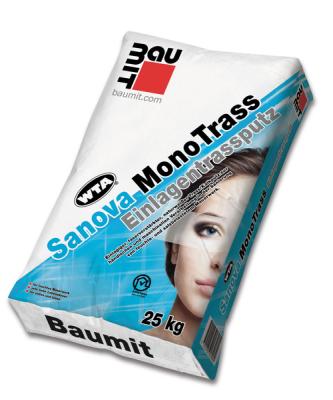 Baumit SanovaMonoTrass/ EinlagenTrassputz