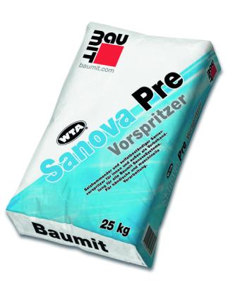 Baumit SanovaPre / Vorspritzer