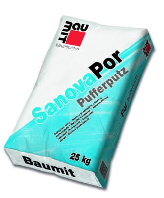 Baumit SanovaPor / Pufferputz